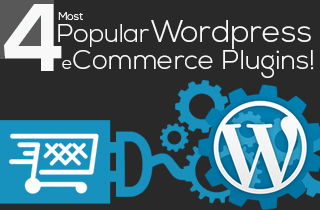4 most popular wordpress ecommerce plugins -featured