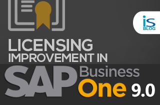 Licensing Improvement in SAP Business One 9.0
