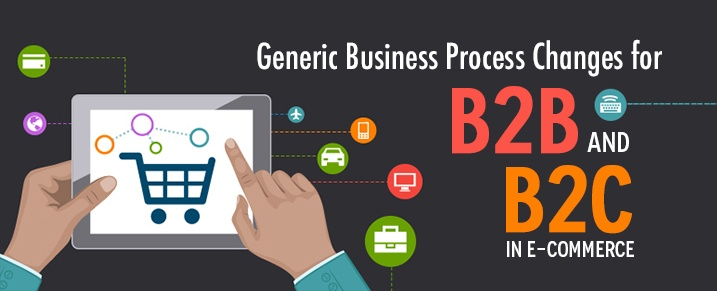 Generic Business Process Changes for B2B and B2C in eCommerce