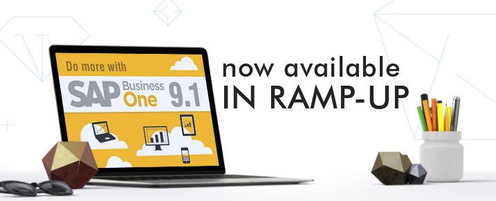 SAP Business One 9.1 now available in Ramp-Up