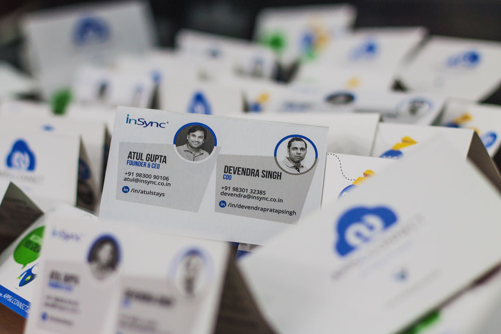 Insync's Business Cards