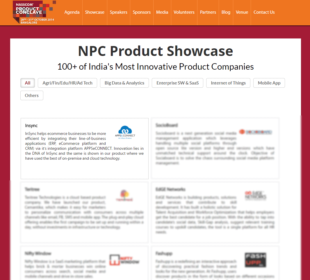 NPC product-showcase