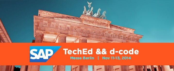 SAP TechED && d-code Berlin 2014