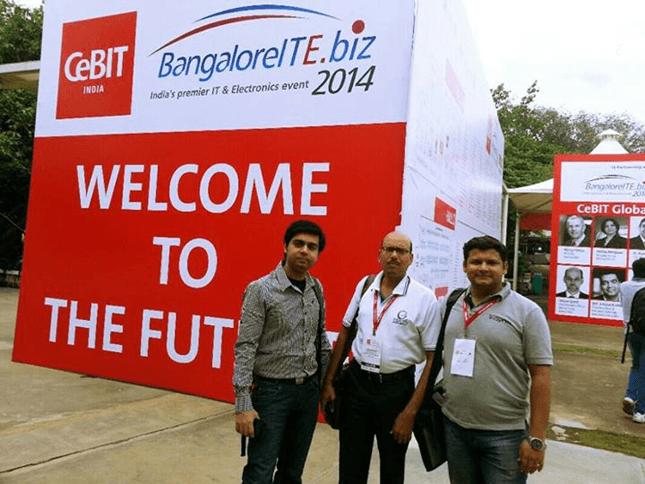 at cebit india 2014