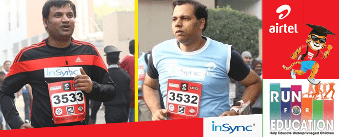 airtel run for education InSync