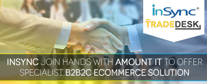 InSync join hands with Amount IT to offer specialist B2B2C eCommerce solution