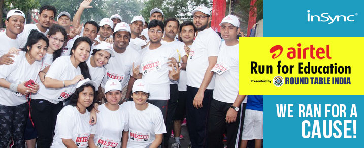 airtel run for education InSync