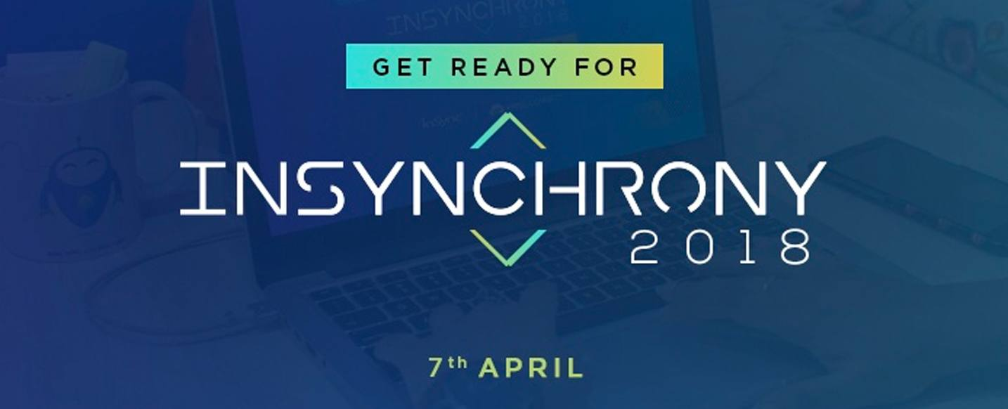 Get Ready For InSynchrony 2018 – InSync Annual Event