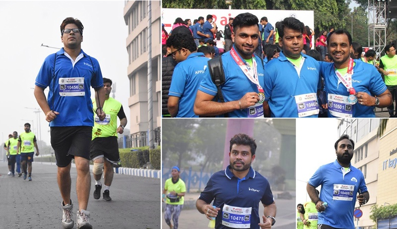 insync-at-airtel-run-for-education-2018-10km