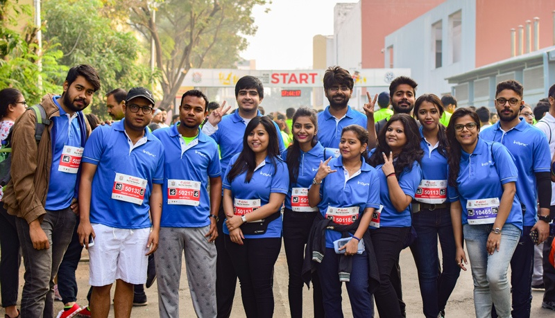 insync-team-at-airtel-run-for-education-2018