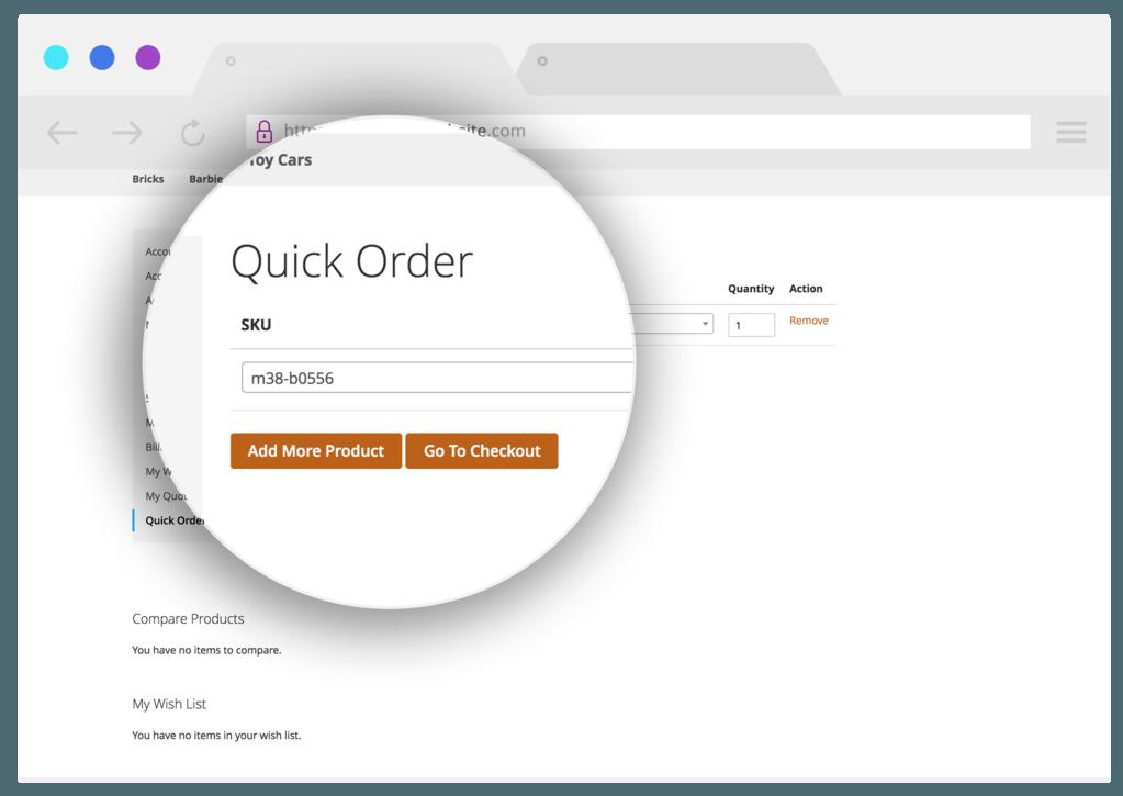 Quick-order-InSync