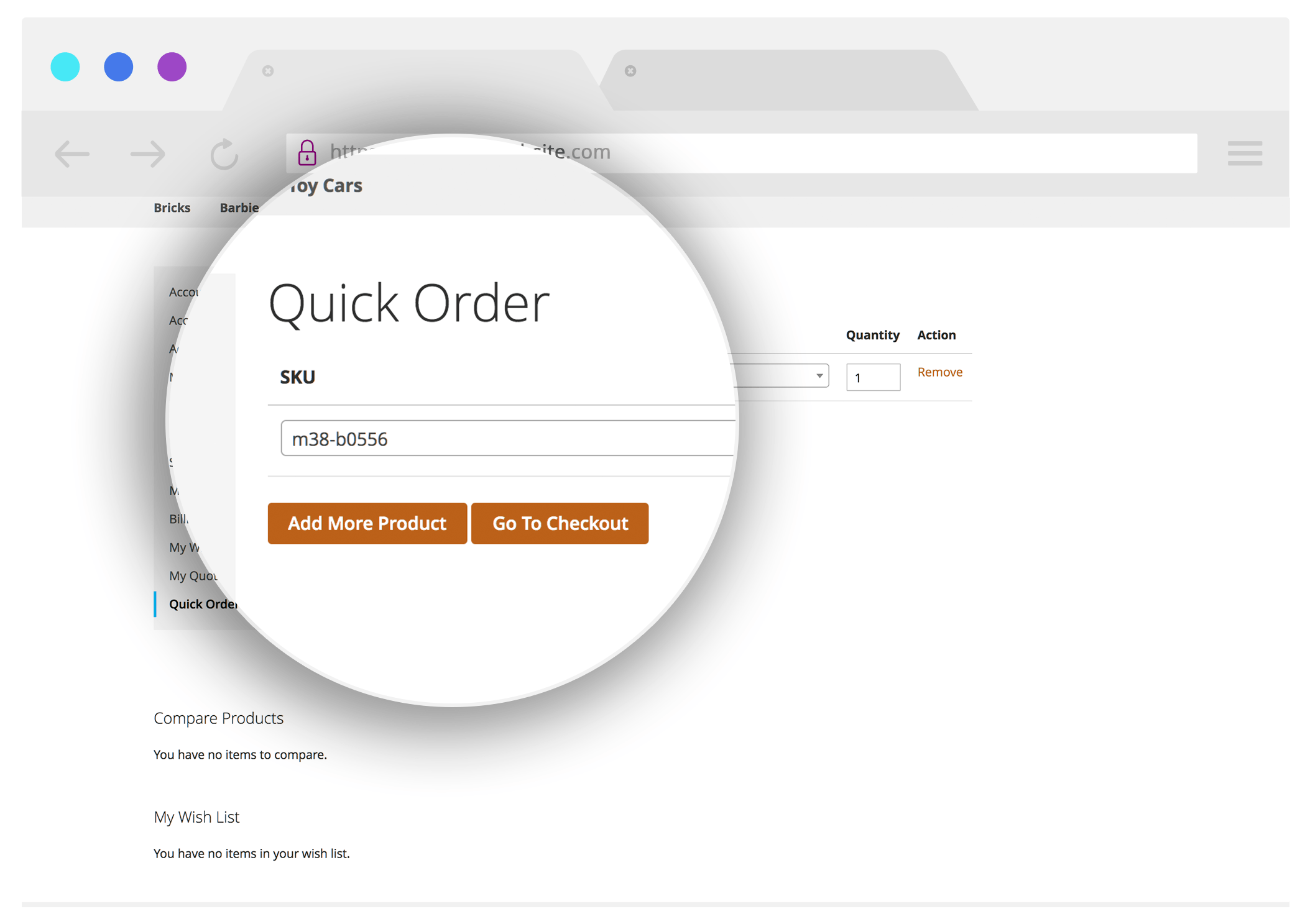 Quick-order-InSync