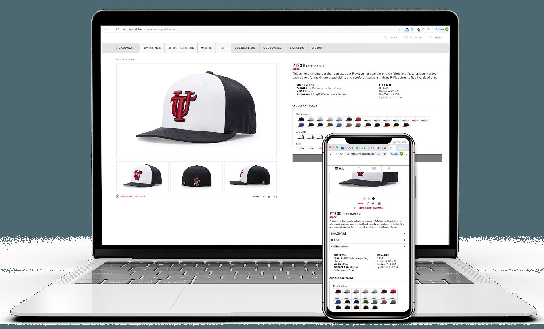 Mobile Optimized B2B Store