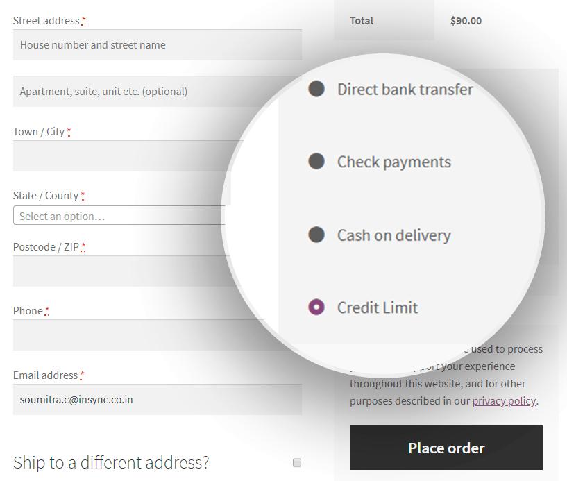 credit-limit-WooCommerce-B2B-store