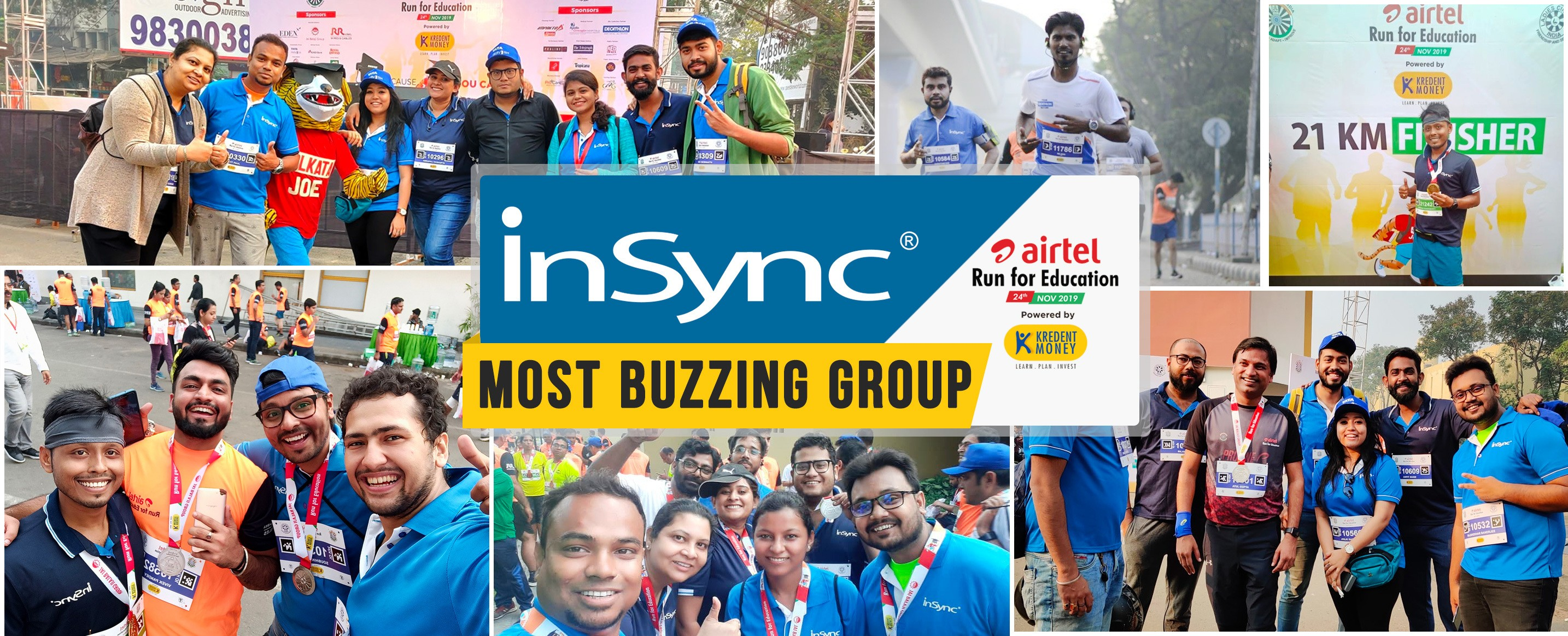 InSync-Most-Buzzing-Group-ARFE2019