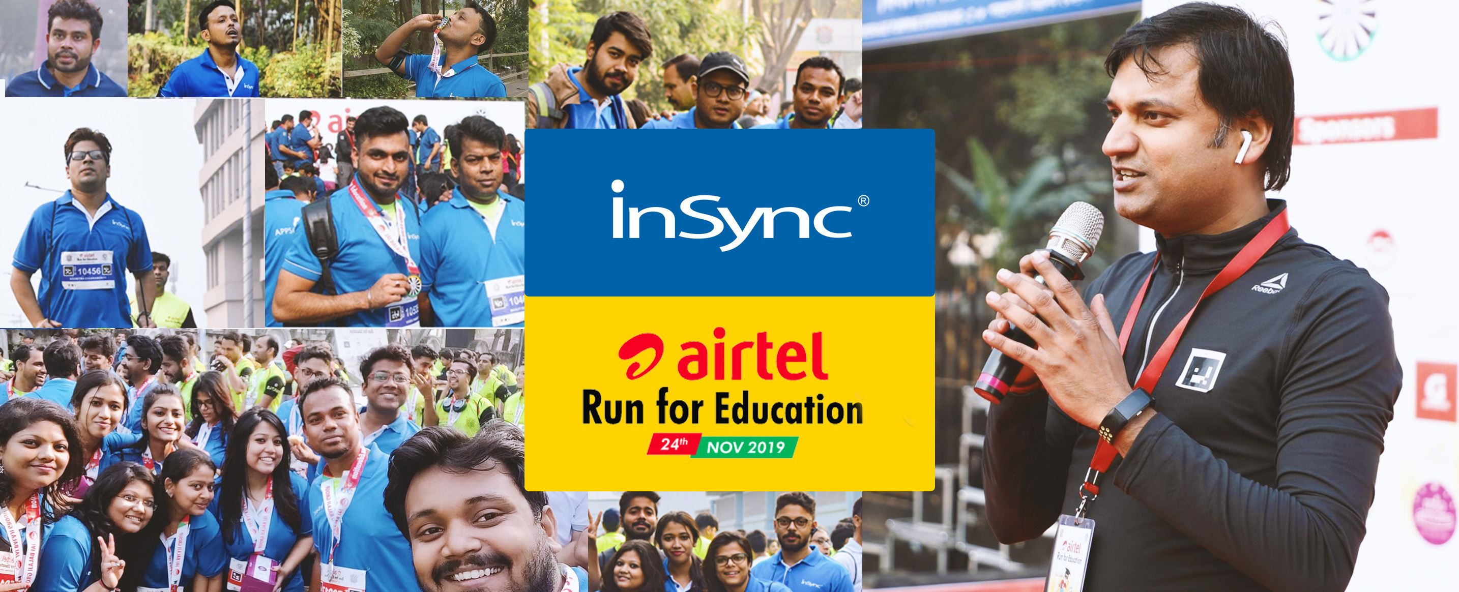 InSync Gears Up for the 6th Edition of Airtel Run for Education
