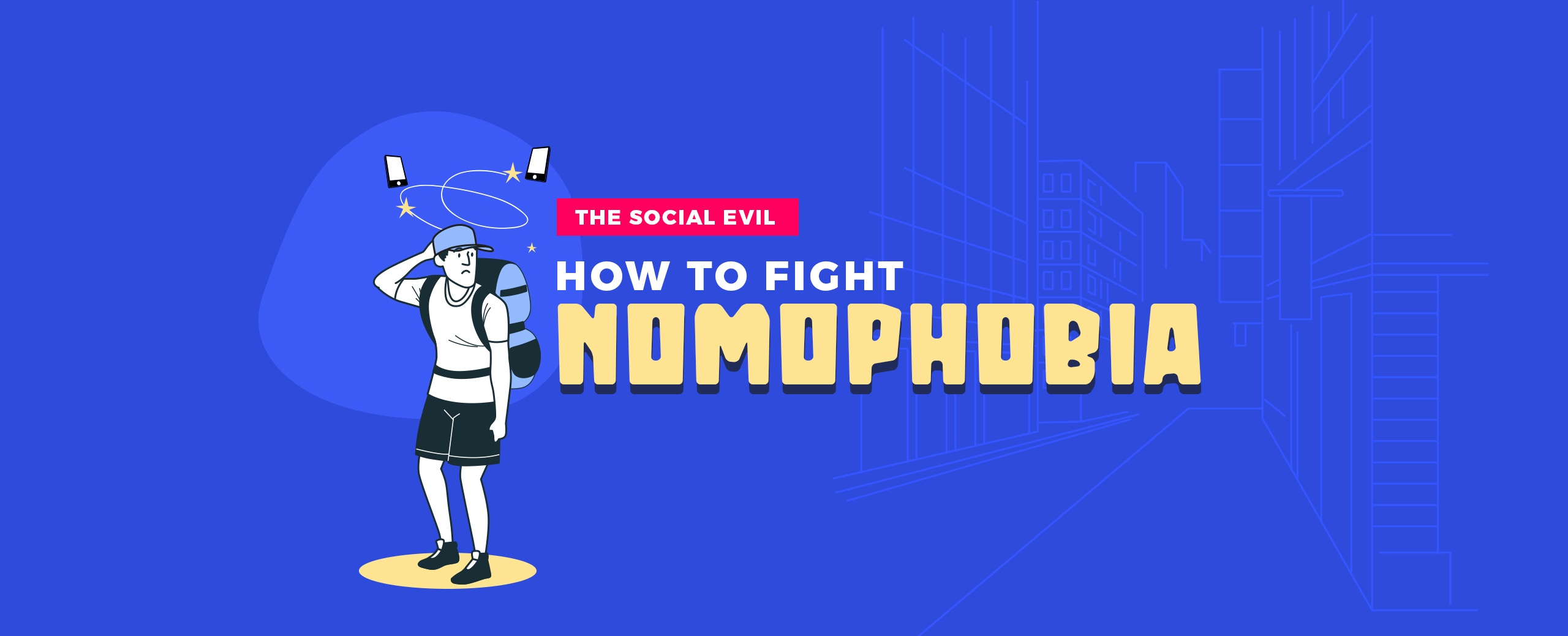 NOMOPHOBIA – How To Fight This Social Evil?