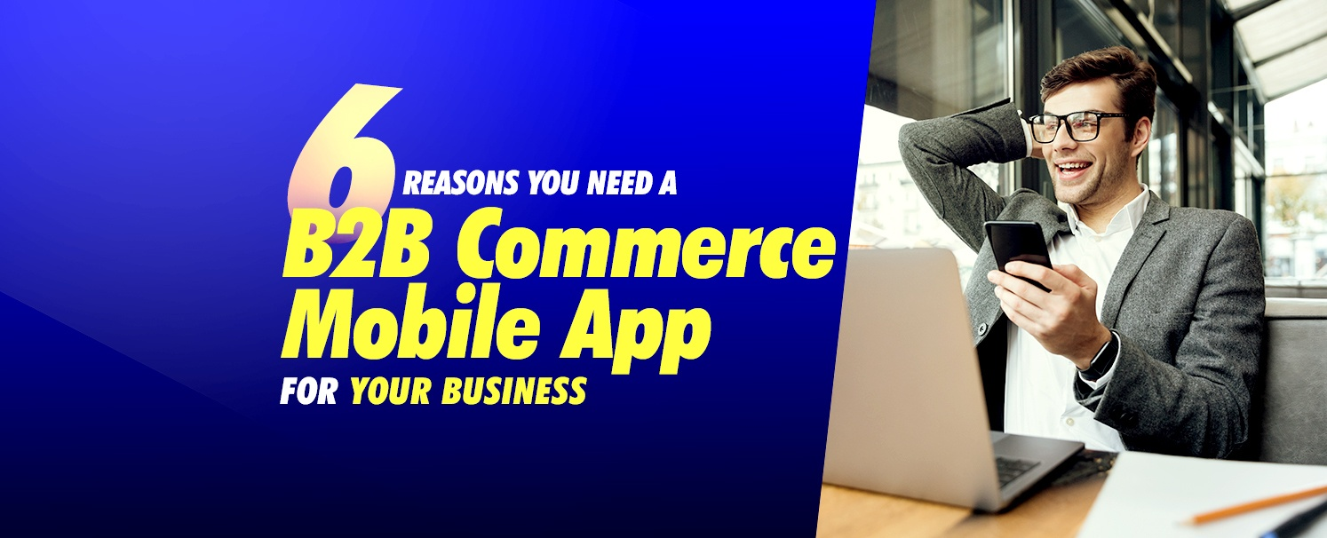 6 Reasons B2B Commerce mobile app for your business