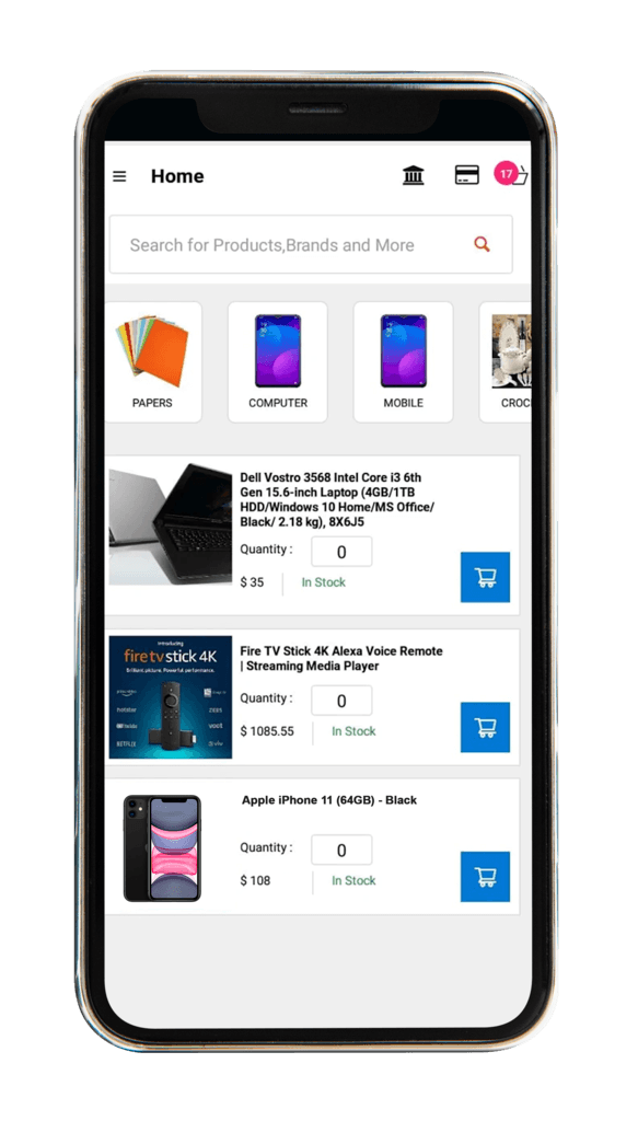 B2BeConnect Mobile-App-Dashboard-