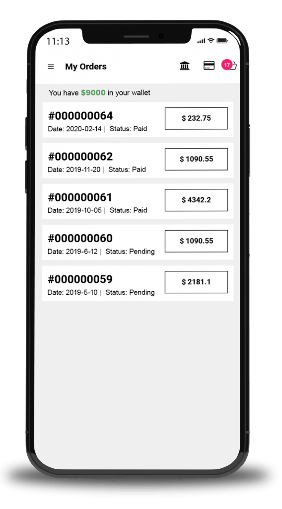 B2BeConnect Order-Management