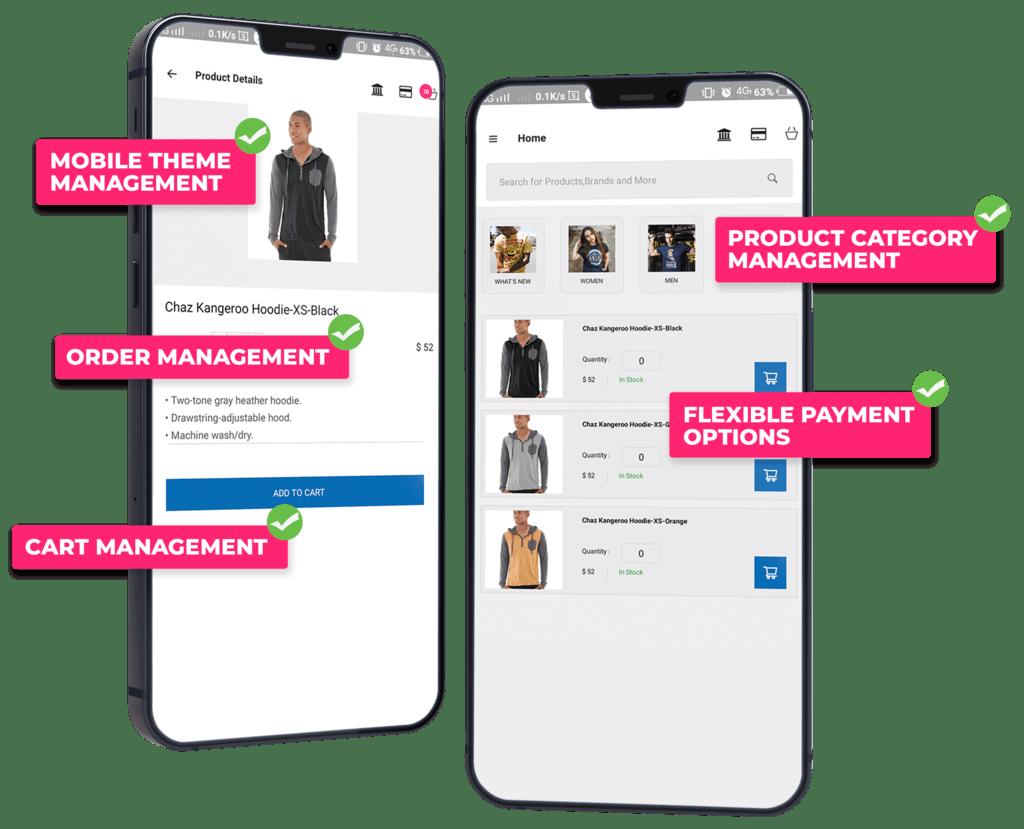 B2B eCommerce Mobile App