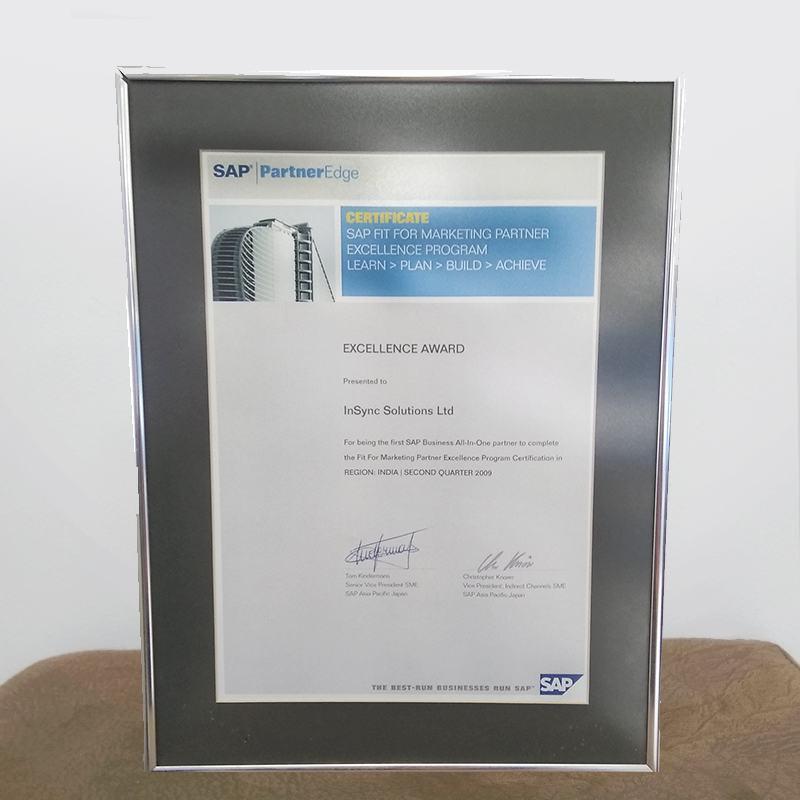 SAP Excellence Award