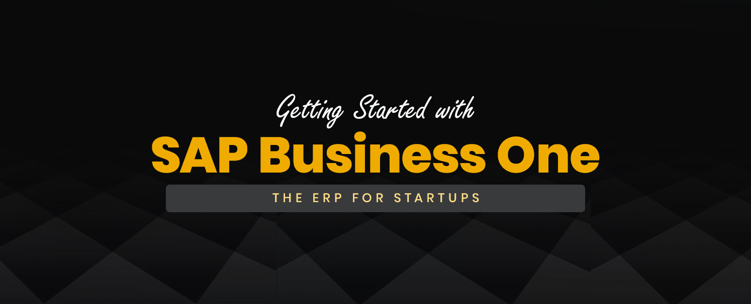 Getting Started with SAP Business One Starter: The ERP for Startups