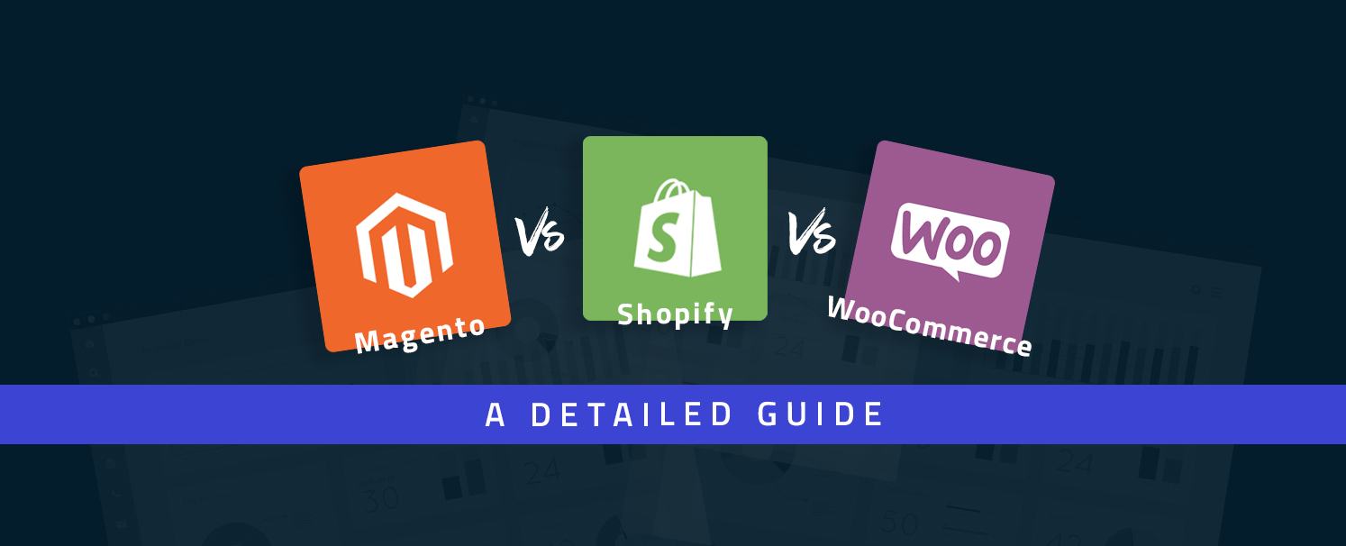 Magento vs Shopify vs WooCommerce: A Detailed Guide for You
