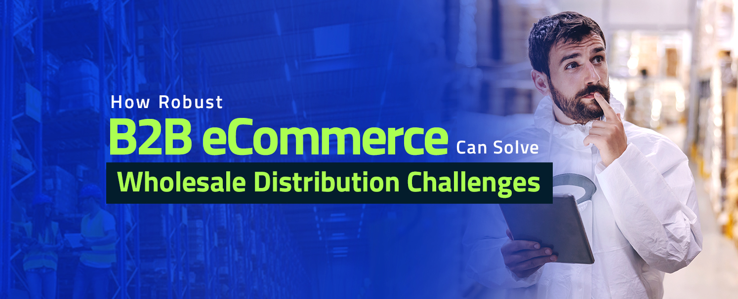 How Robust B2B eCommerce Can Solve Wholesale Distribution Challenges