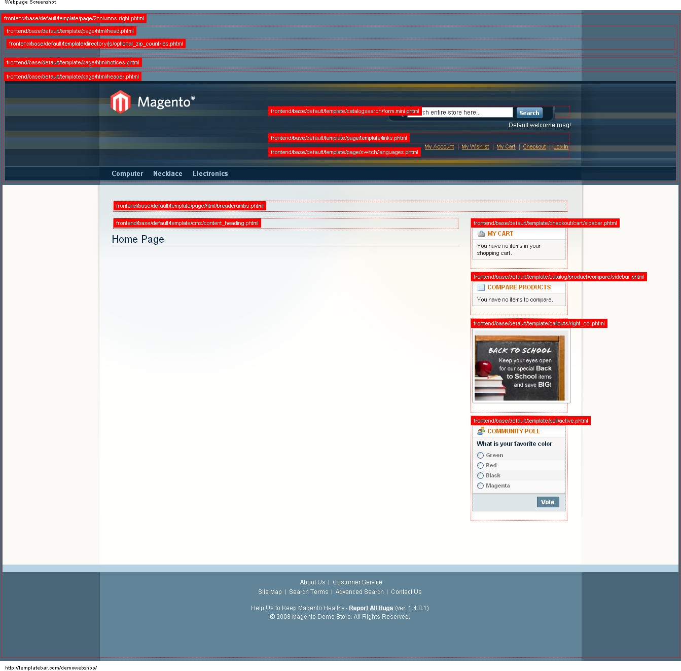 How to enable template path and block name hints in magento commerce responsive magento template path hints maxwellsz
